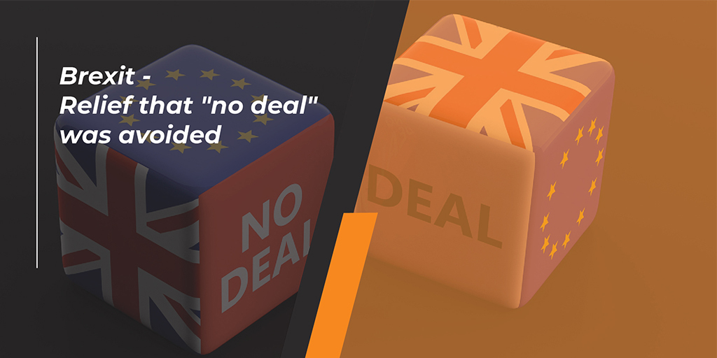 """Brexit - relief that """"no deal"""" was avoided"""