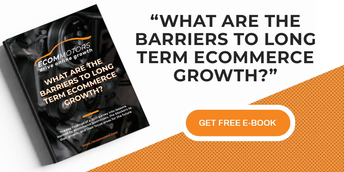 What are the barriers to long term ecommerce growth